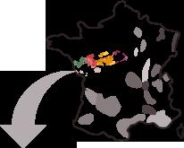 Carte d'identité du vignoble du val de loire